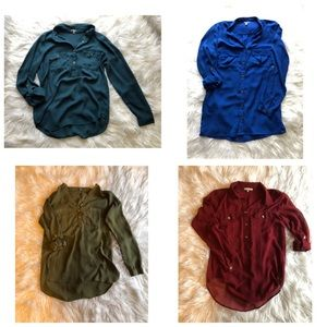 4 Blouses for the price of ONE